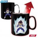 Dragon Ball Z Vegeta Heat Change Mug ABYstyle