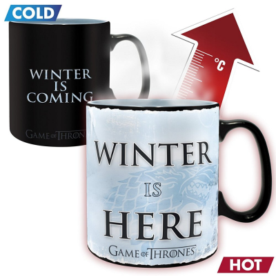 Tazza Game of Thrones Winter is here Heat Change Mug