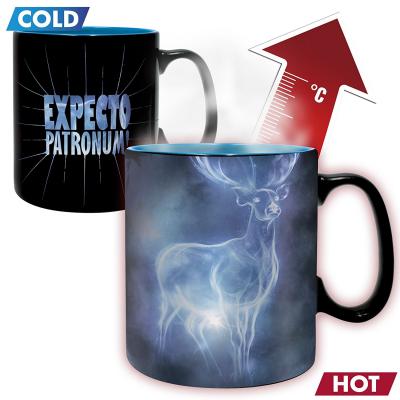 Tazza Harry Potter Expecto Patronum Heat Change Mug