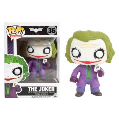 Batman Dark Knight The Joker Pop! Funko heroes Vinyl Figure n° 36