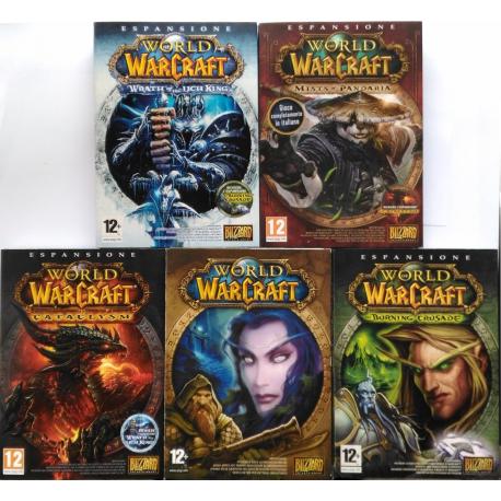 Gioco Pc World Of Warcraft + espansioni