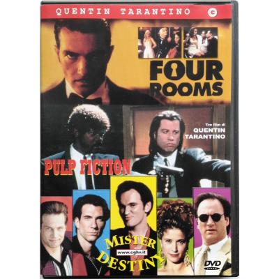 Dvd Quentin Tarantino box Four Rooms - Pulp fiction - Mister Destiny