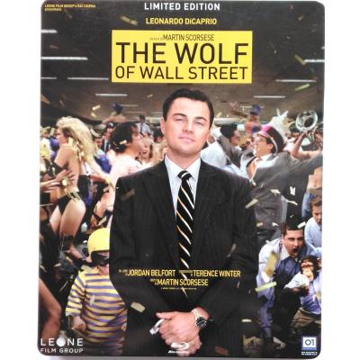 Blu-ray The Wolf of Wall Street steelbook