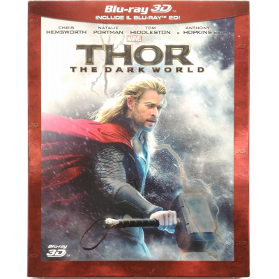 Blu-ray Thor - The Dark World (3D + 2D slipcase)