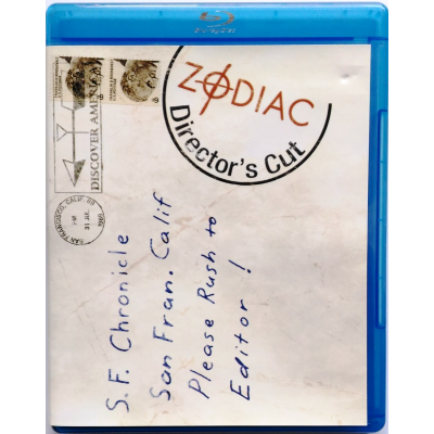 Blu-ray Zodiac - Director's Cut