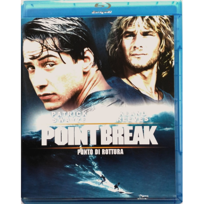 Blu-ray Point break di Kathryn Bigelow 1991