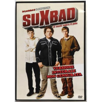 Dvd Suxbad - 3 menti sopra il pelo