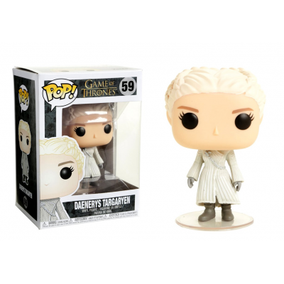 Game of Thrones Daenerys Targaryen white coat Pop! Funko Vinyl Figure n° 59
