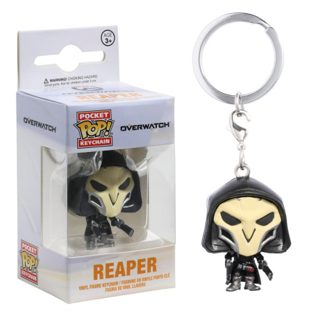 Portachiavi Overwatch Reaper Pocket Pop! Vinyl KeyChain Funko