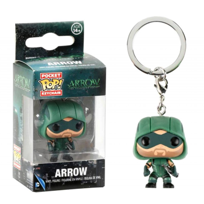 Portachiavi Arrow DC Comics Pocket Pop! Vinyl KeyChain Funko