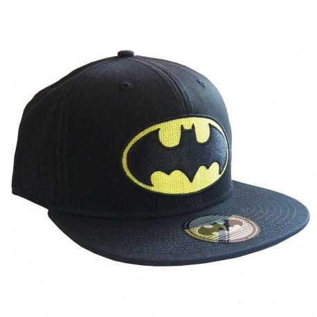 Batman classic logo snapback Cap Hat Black DC Comics