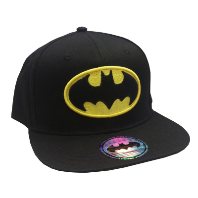 Batman classic logo snapback Cap Black ufficiale DC Comics originals