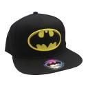 Batman classic logo snapback Cap Black ufficiale DC Comics originals