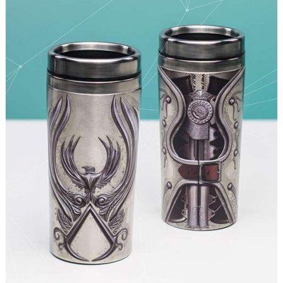 Tazza thermos Assassin's Creed gauntlet travel mug Paladone