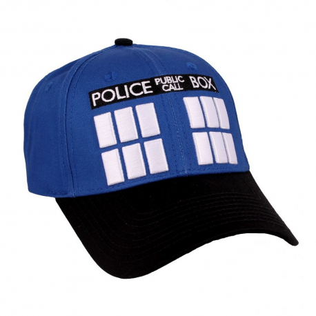 Cappello Doctor Dr. Who - Police Box Tardis Cap