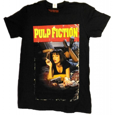 T-shirt Pulp Fiction - Smoking Stance Poster