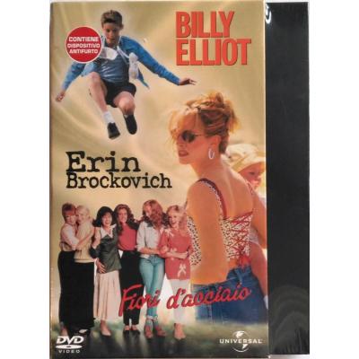 Dvd Cofanetto Erin Brockovich + Billy Elliot + Fiori D'Acciaio