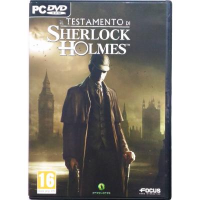 Gioco Pc Il Testamento di Sherlock Holmes