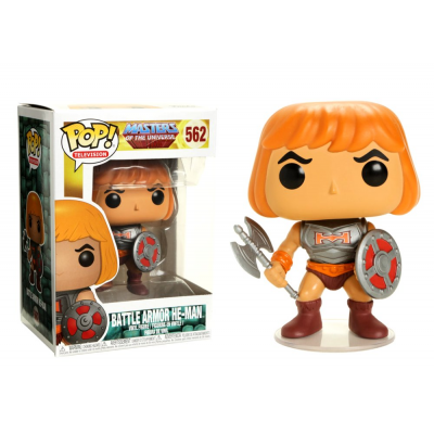 Masters of the Universe Battle Armor He-Man Pop! Funko