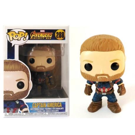 Avengers Infinity War Captain America Pop! Funko
