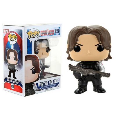 Captain America Civil War Winter Soldier Pop! Funko