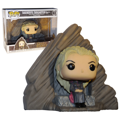 Game of Thrones Daenerys Targaryen On Dragonstone Throne Pop! Funko
