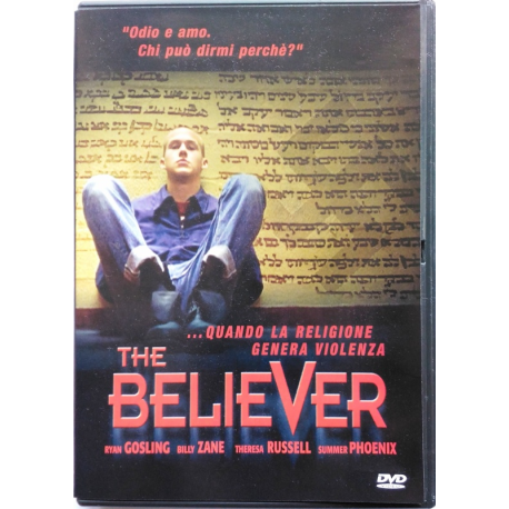 Dvd The Believer con Ryan Gosling 2001 Usato