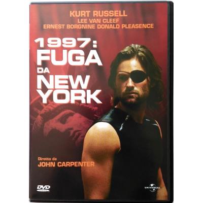 Dvd 1997 - Fuga da New York