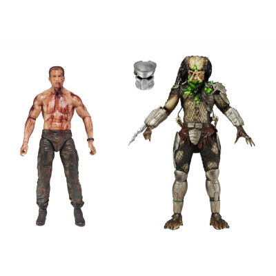 Action figure Predator Dutch Vs. Jungle Hunter: The Final battle 2-pack by Neca