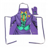 Grembiule Joker Apron and Oven Mitt SD Toys