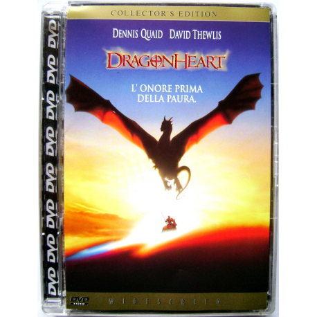 Dvd Dragonheart - Collector's ed. Super jewel box di Rob Cohen 1996 Nuovo