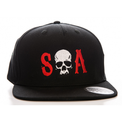 Cappello Sons Of Anarchy - S-O-A Snapback Cap Hat Hybris