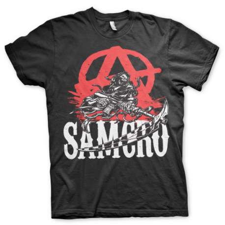 T-shirt Sons Of Anarchy - SOA Anarchy Reaper