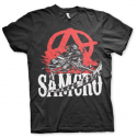 T-shirt Sons Of Anarchy - SOA SAMCRO Anarchy Reaper maglia Uomo Hybris