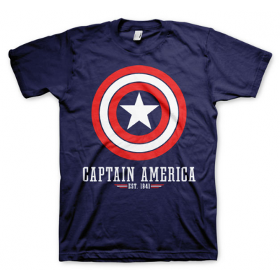 T-shirt Marvel Comics - Captain America Logo