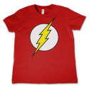 T-shirt The Flash Emblem logo Kids maglia Bambino DC Comics by Hybris