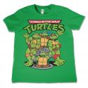 T-shirt Tartarughe Ninja TMNT Turtles Group Kids maglia Bambino by Hybris