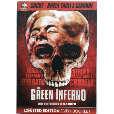 Dvd The Green Inferno - Edizione Limitata Uncut