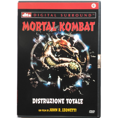 Dvd Mortal Kombat - Distruzione Totale