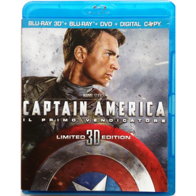 Blu-ray Captain America - Il primo vendicatore Limited Edition