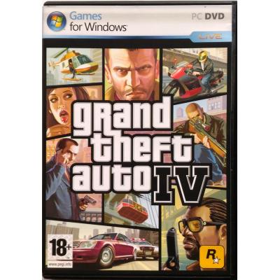 Gioco Pc Grand Theft Auto IV