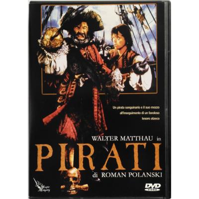 Dvd Pirati di Roman Polanski