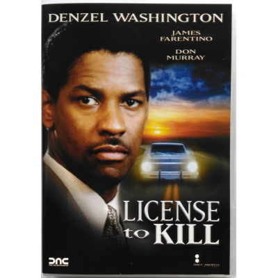 Dvd License to kill