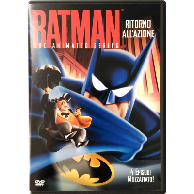 Dvd Batman - The animated series Volume 03 Ritorno all'azione