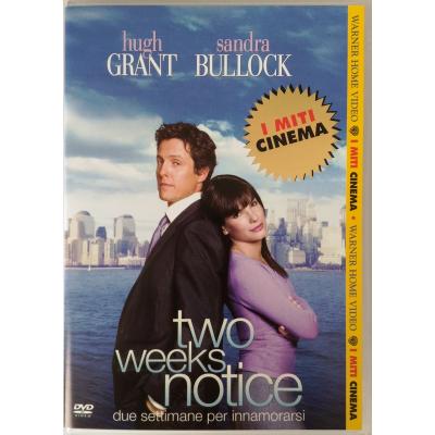 Dvd Two weeks notice - Due settimane per innamorarsi Miti
