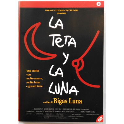 Dvd La Teta y la Luna di Bigas Luna