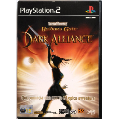 Gioco PS2 Forgotten Realms Baldur's Gate - Dark Alliance
