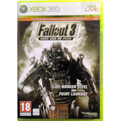 Gioco Xbox 360 Fallout 3 Game Add-On Broken Steel Point Lookout