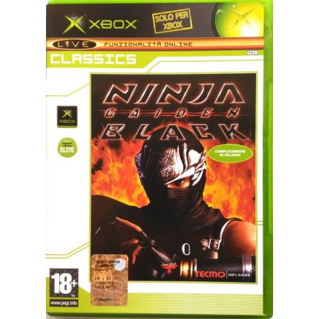 Gioco Xbox Ninja Gaiden Black