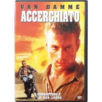 Dvd Accerchiato con Jean-Claude Van Damme 1993 Usato